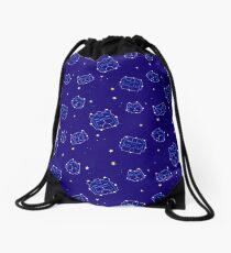 space lions Drawstring Bag