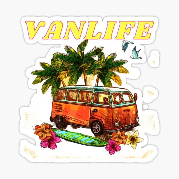Digital Nomads Vanlife Sticker