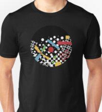 Ticker Tape Geometric T-Shirt