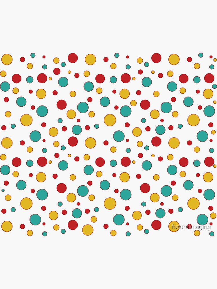 Tasty Goodness Colorful Dots series accessories by futureimaging