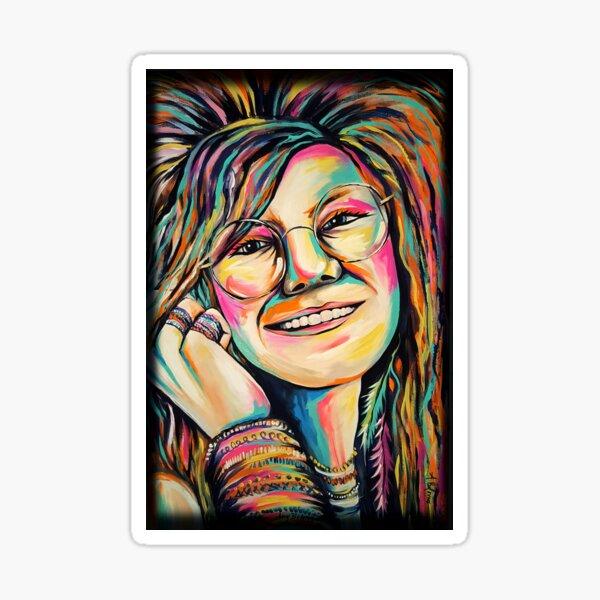 Hippie Singer Sticker