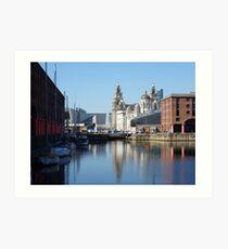 Albert Dock Liverpool Art Print