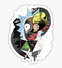 Rick Polarity Sticker