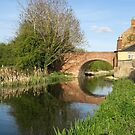 The canal at Stonehouse by Jeff  Wilson