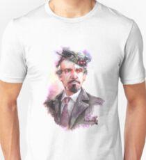 Watercolor Delgado!Master 2 partly opaque version T-Shirt