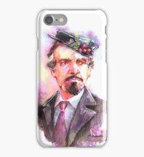 Watercolor Delgado!Master 2 transparent version iPhone Case/Skin