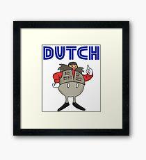Zeb Coulter/Dutch Mantel Dr Eggman (sonic the hedgehog/wrestling)) Framed Print