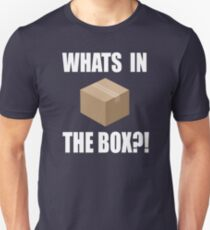 Seven Quote - Whats In The Box?! Unisex T-Shirt
