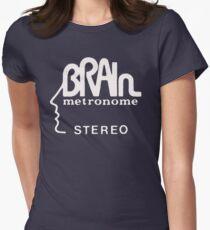 brain records krautrock neu  Women's Fitted T-Shirt