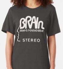 brain records krautrock neu  Slim Fit T-Shirt