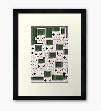 Tetris Framed Print