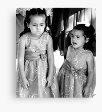 """UnHappy - Flower Girls"" Canvas Print"
