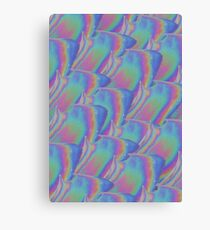 Flower Hologram Canvas Print