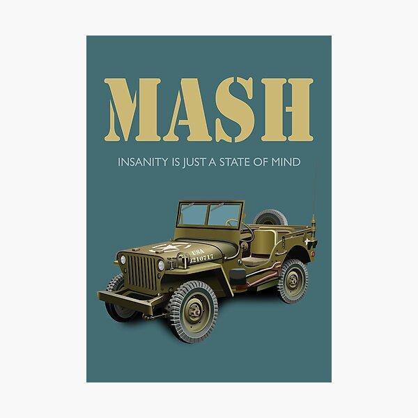 Mash TV series poster Photographic Print