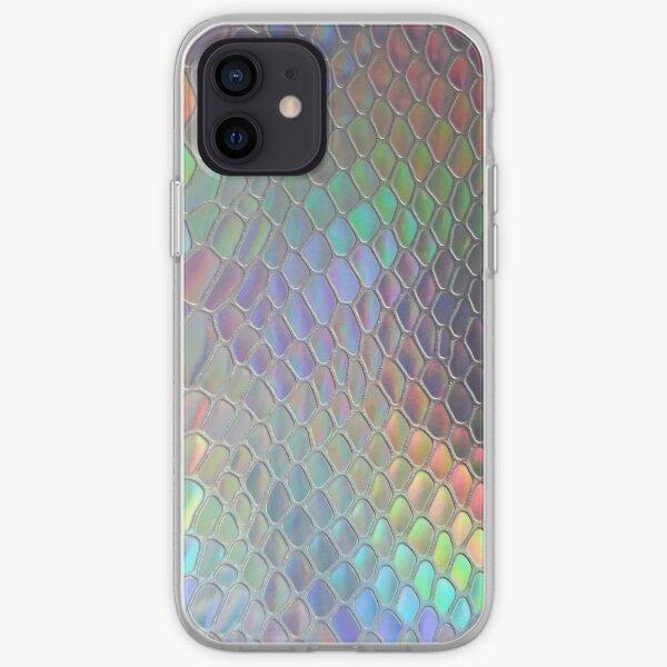 Holographic croc iPhone Soft Case