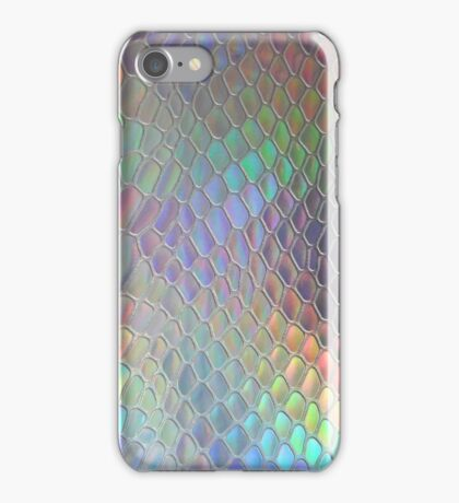 Holographic croc iPhone Case/Skin