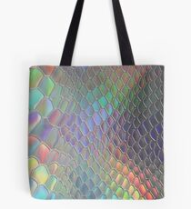 Holographic croc Tote Bag