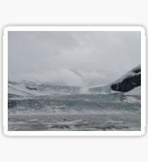 The Columbia Icefield Sticker