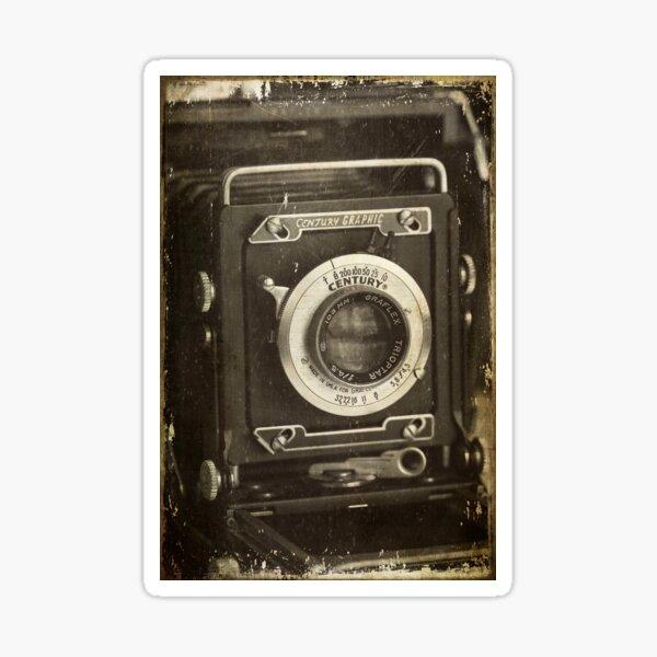 1949 Century Graphic Camera Sticker