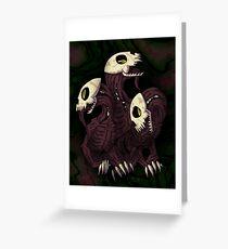 Skelefaust Greeting Card