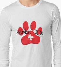 Service Dog Long Sleeve T-Shirt