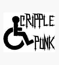 Cripple Punk Photographic Print