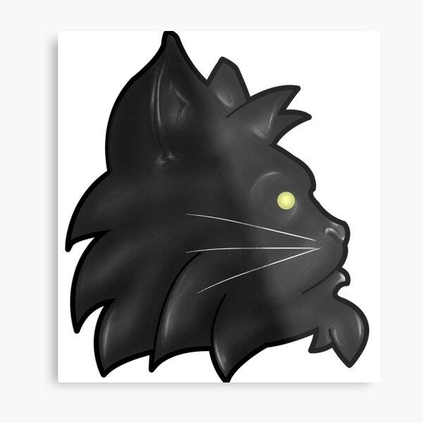 Seth the Cat Metal Print