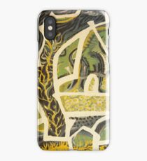 a piece of green fields iPhone Case