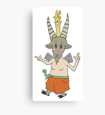 Lil Baphy Canvas Print