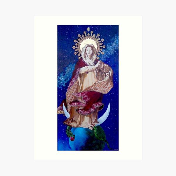 Regina Coeli, Stella Maris, Imperatrix Mundi 2021 Art Print