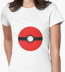 Pokeball Women's Fitted T-Shirt