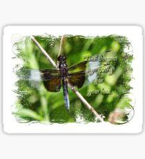Sympathy card for chazagirl Sticker