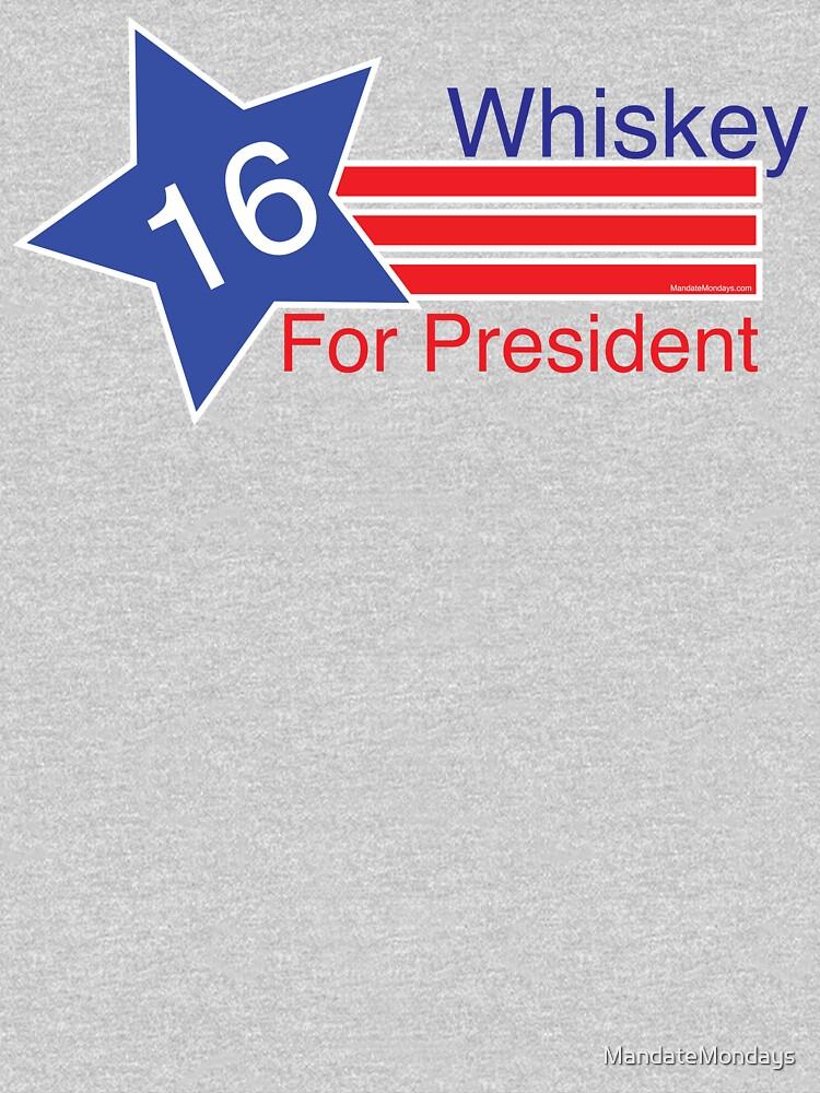 Whiskey for President by MandateMondays