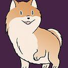 Pomeranian Love! by Mel Albino