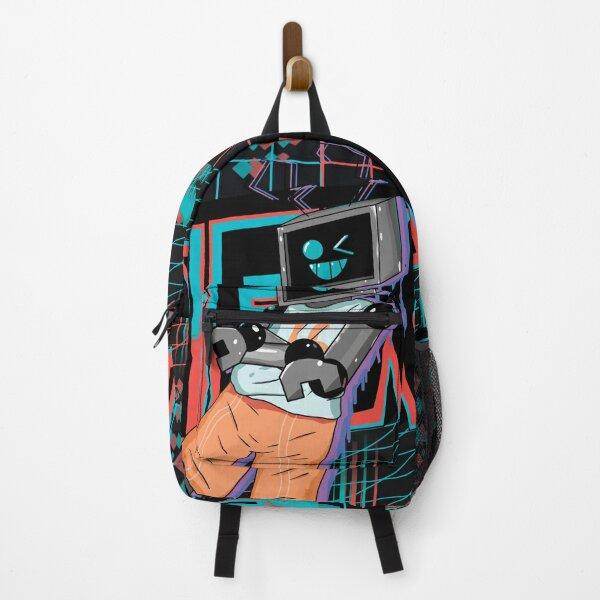 Fnf Hex neon artwork Backpack