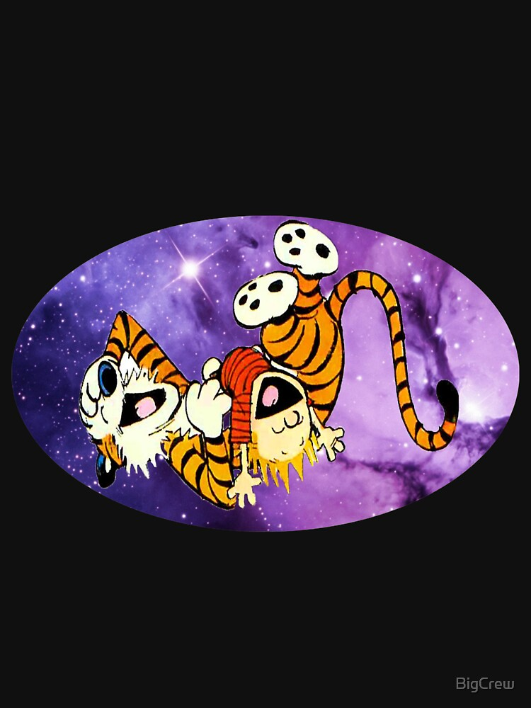 Calvin and Hobbes Laugh by BigCrew