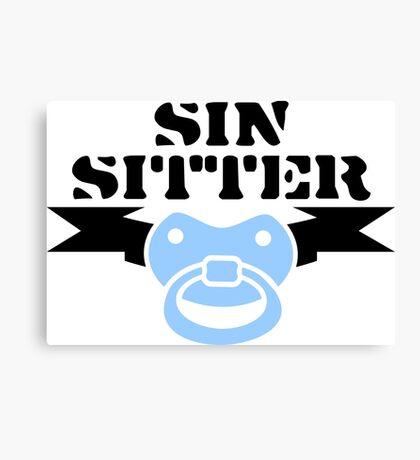 Sin Sitter VRS2 Canvas Print
