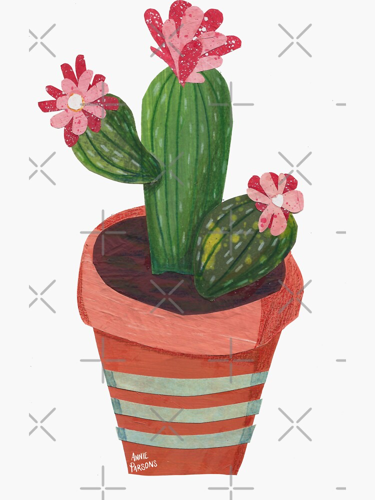Collage Cactus by annieparsons