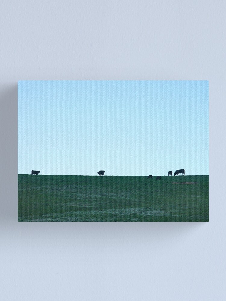 Alternate view of Grazing Canvas Print