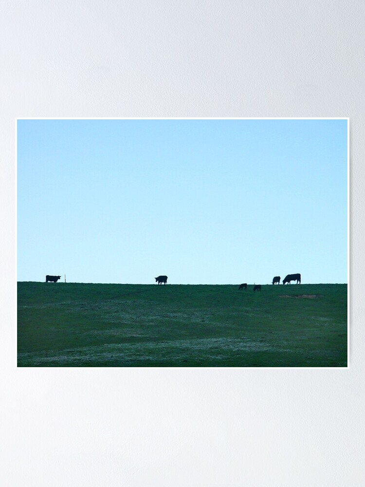 Alternate view of Grazing Poster