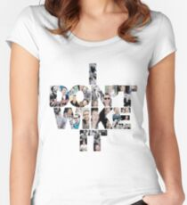 I don't wike it - Chris Evans Women's Fitted Scoop T-Shirt