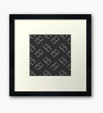 Architect - White Framed Print