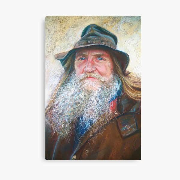 Portrait of Graeme Canvas Print