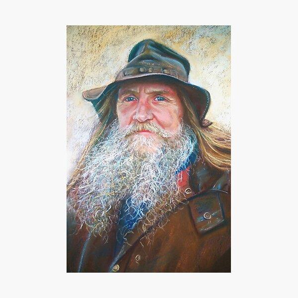 Portrait of Graeme Photographic Print