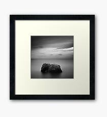 Lonely land Framed Print