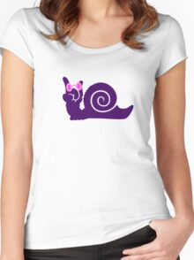 funky snail VRS2 Women's Fitted Scoop T-Shirt