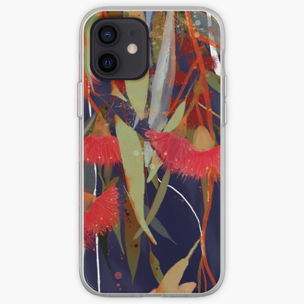 Eucalyptus leaves and flowers iPhone Soft Case