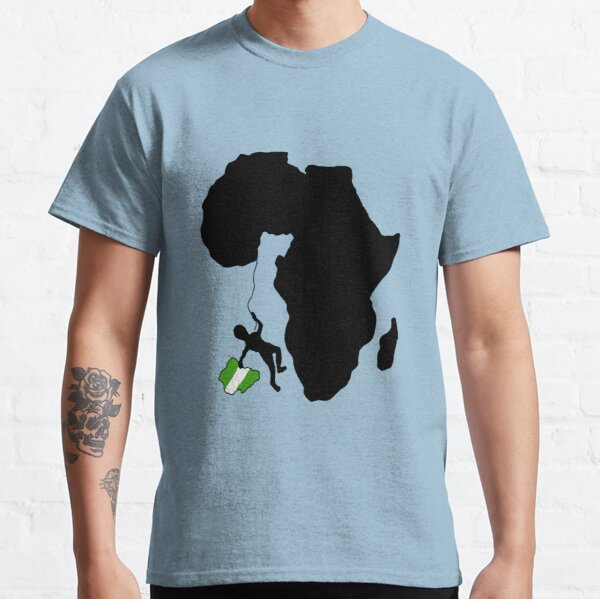 The Nigerian Spirit Of Resilience Classic T-Shirt