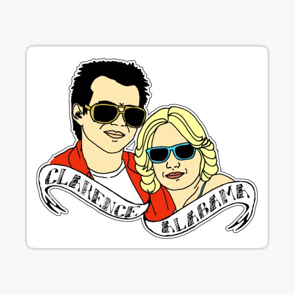 True Romance Sticker