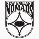 Nomads shield, full chest, black by nomads
